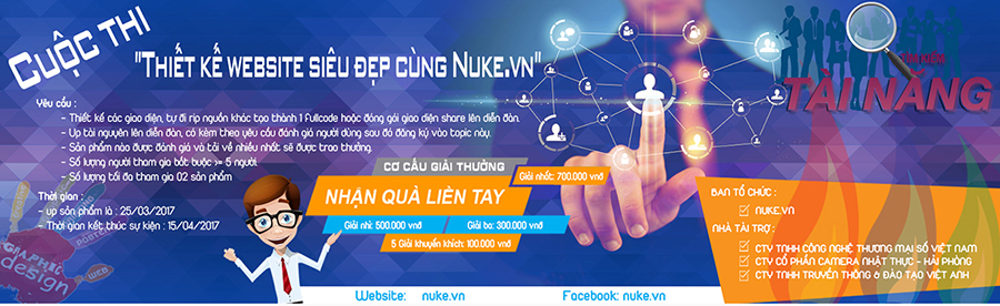 Cuộc thi thiết kế themes nukeviet